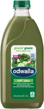 Odwalla® Groovin' Greens Fruit & Veggie Juice 59 fl. oz. Plastic Bottle