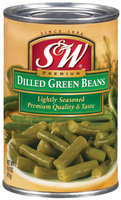 S&W® Dilled Lightly Seasoned Green Beans 14.5 oz. Can