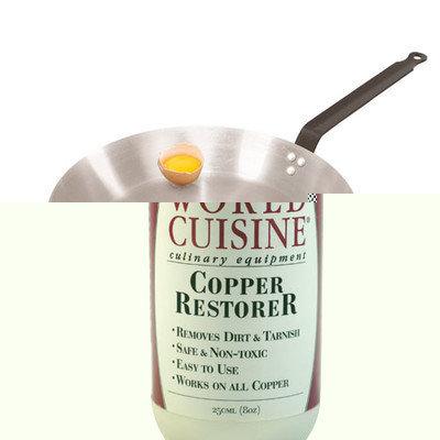 World Cuisine A4171450 Heavy Duty Carbon Steel Frying Pan