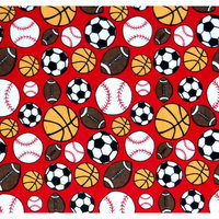 Stwd 3 Piece Sports Sheet Crib Bedding Set