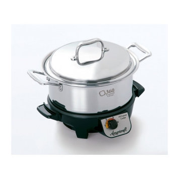 Cookware Gourmet Slow Cooker Size: 11.75