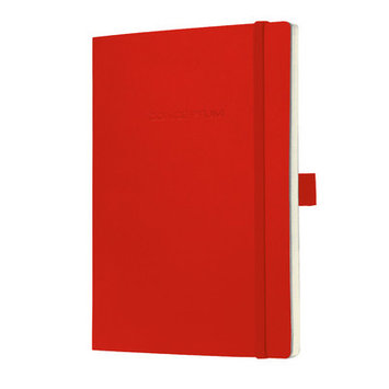 Sigel Conceptum Classic A4 Lined Softcover Notebook Red CO218