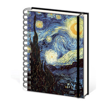Ace Framing Van Gogh Starry Night A5 Notebook