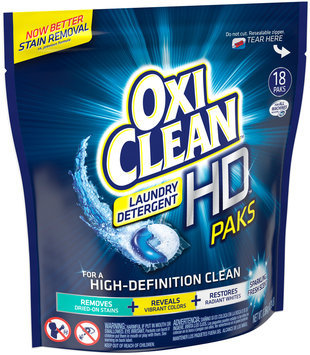 OxiClean™ Sparkling Fresh Scent HD™ Paks 18 ct Pouch
