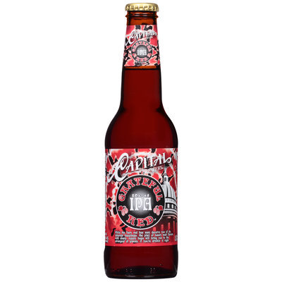 Capital Brewery Grateful Red­ IPA Beer
