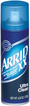 Arrid Xx Extra Extra Dry Ultra Clean Anti-Perspirant/Deodorant 6 Oz Aerosol Can