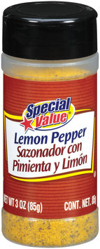 Special Value  Lemon Pepper 3 Oz Shaker