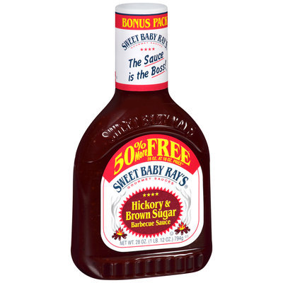 Sweet Baby Ray's® Hickory & Brown Sugar Barbecue Sauce