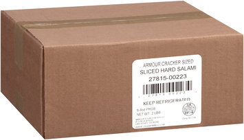 Armour® Cracker Cut Hard Salami 4 oz. Pack