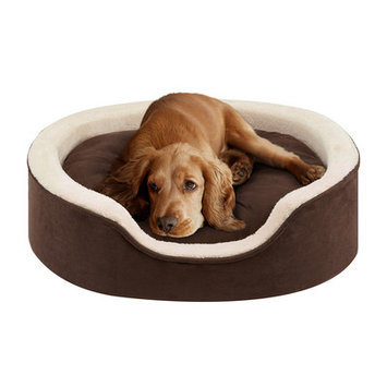 Soft Touch Milo Oval Cuddler Dog Bed - 27