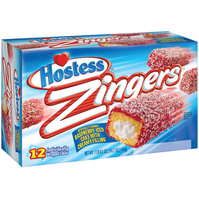 Hostess® Raspberry Zingers® 12 ct Box