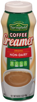 Springfield® Original Non-Dairy Coffee Creamer 16 oz. Plastic Bottle