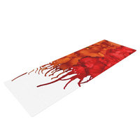 Kess Inhouse Fall Splatter by Claire Day Yoga Mat
