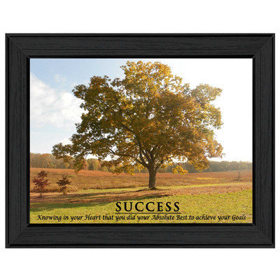 Millwork Engineering Success' Framed Art