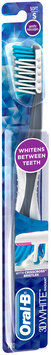 3D White Oral-B 3D White Radiant Whitening Toothbrush 40 Soft 1 Count