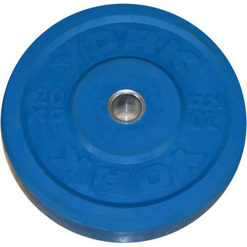 York Barbell Training Bumper Plate Weight: 44 lbs