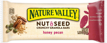 Nature Valley™ Nut & Seed Honey Pecan Crunchy Granola Bars 1.49 oz. Pack