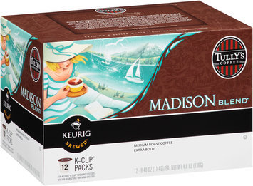 Tully's Coffee® Madison Blend® Medium Roast Coffee 12-.40 oz. Cups
