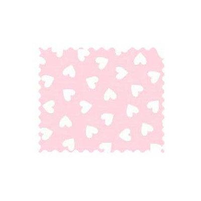 Stwd 3 Piece Hearts Pastel Woven Crib Sheet Bedding Set