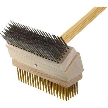Texas Brush Grill Brush Brush: Stainless/Brass