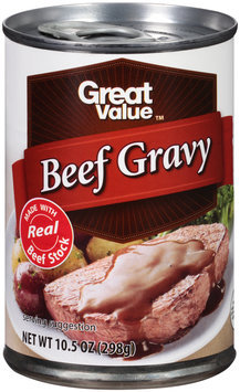 Great Value™ Beef Gravy 10.5 oz. Can