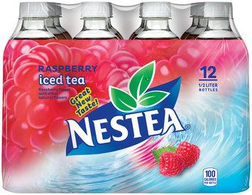 NESTEA Iced Tea, Raspberry 16.9-ounce plastic bottles (Pack of 12)