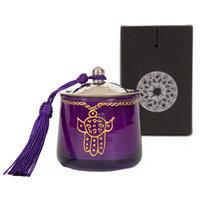 Casablanca Market Moroccan Khamsa Jar Candle Color: Purple