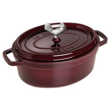 Staub Coq Au Vin Cocotte - Enameled Cast Iron, 4.25 qt.