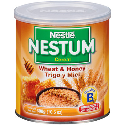 Nestlé® Nestum® Wheat & Honey Infant Cereal 10.5 oz. Canister
