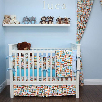 My Blankee Cars 6 Piece Crib Bedding Set