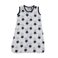 Bacati Stars Sleep Sack Size: Small, Color: Navy