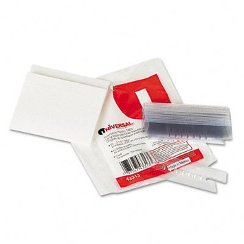 Universal Office Products Index Tabs and Dividers Universal 1/3 Cut
