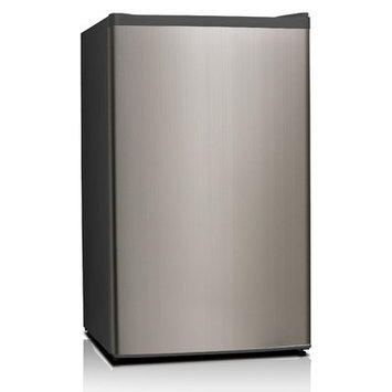 Equator 3.3 cu. Ft. Defrost Compact Refrigerator, Defrost Refrigerator Stainless Steel. Specialty
