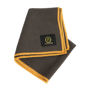Natural Fitness Yoga Hand Towel - Carbon/Sun