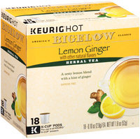 Bigelow® Lemon Ginger Herbal Tea 18-0.10 oz. K-Cup Pods