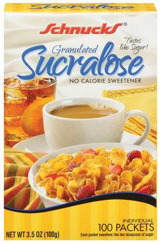 Schnucks Sucralose No Calorie Sweetener
