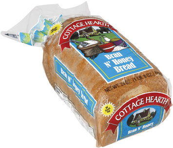 Cottage Hearth Bran N' Honey Bread 24 Oz Bag