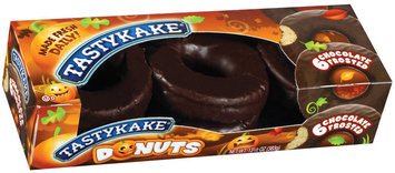 Tastykake Chocolate Frosted Donuts 6 Ct Box