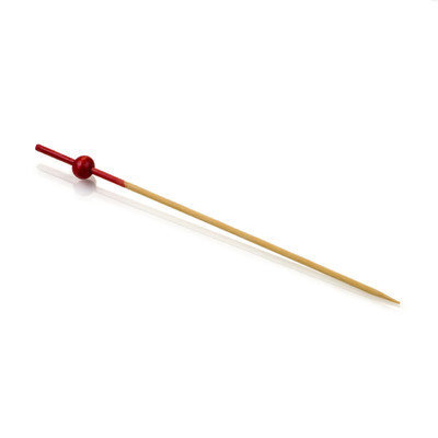 Restaurantware Mini Ball Skewer (1000 Count) Color: Red