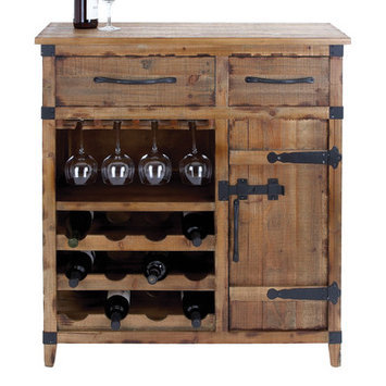 Cole & Grey Wine Cabinet