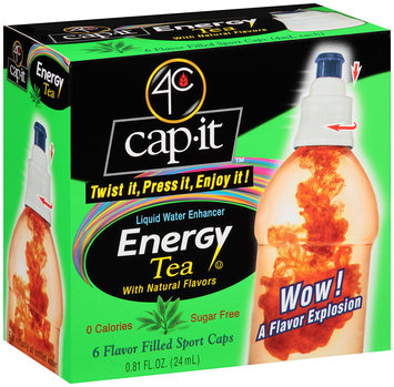 4C Cap-It™ Liquid Water Enhancer Energy Tea .81 fl. oz. Box