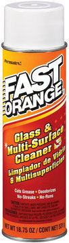 Permatex® Fast Orange® 25544 Glass & Multi-Surface Cleaner 18.75 Oz Aerosol Can