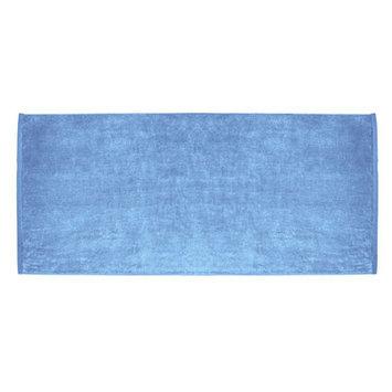 Terry Town Beach Towel Color: Sky Blue