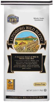 Lundberg Family Farms Ef Wild Blend Gourmet Blend Eco-Farmed 25 Lb. Rice 25 Lb Bag