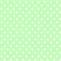 Stwd Pastel Polka Dots Woven Crib Sheet Color: Green