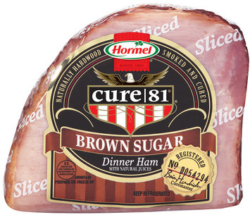 Hormel® Cure 81® Sliced Brown Sugar Dinner Ham 1/4