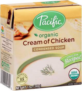 Pacific® Organic Cream of Chicken Condensed Soup