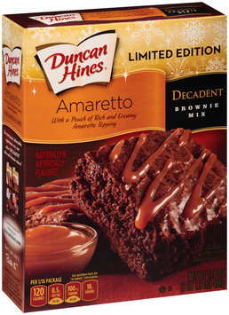 Duncan Hines® Decadent Amaretto Brownie Mix