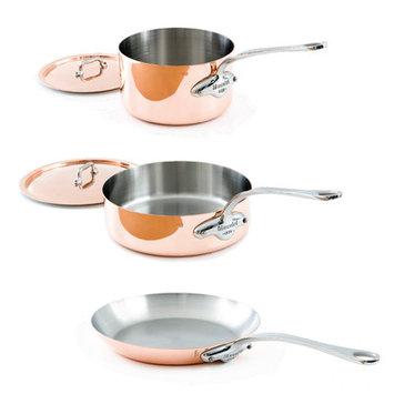 Mauviel Copper M'150S 5 Piece Cookware Set