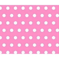 Stwd Polka Dots Crib Sheet Color: Pink
